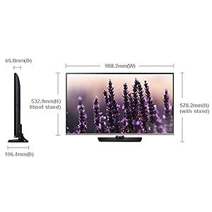 Samsung Joy Plus UA40H5100AR LED TV (40 inch:Full HD) - Black