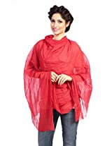 Red Riding Women's Dupatta (PAR9822C191761_Red_Free Size)
