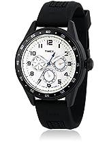 E-Class T2P045 Black/White Analog Watch