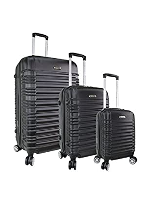 zifel Set de 3 trolleys rígidos 7308C