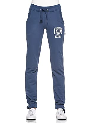 Leone 1947 Pantalón Terry (Azul Marino)