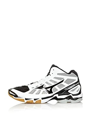 Mizuno Zapatillas Indoor Wave Lightning RX2 Mid (Blanco / Negro)