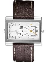 Fastrack Analog Watch-Brown-N1391SL01