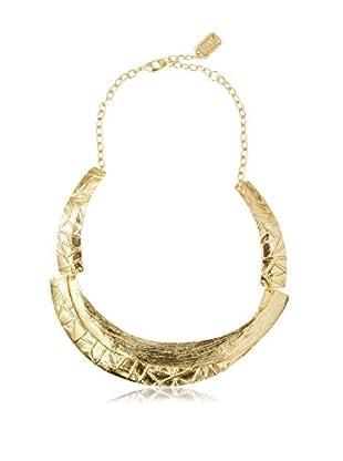 Karine Sultan Jewelry Gold Bib Necklace