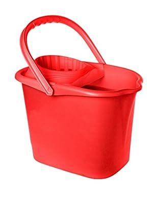 VIGAR Cubo De Fregona Super Rojo