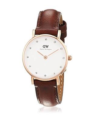 Daniel Wellington Reloj con movimiento cuarzo japonés Woman St Mawes blanco/gris 26 mm