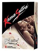 Kamasutra Vanilla - 8 Condoms (Pack of 4)