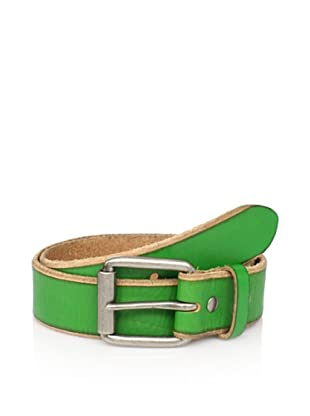 Bill Adler Men's Jelly Bean Belt (Green)