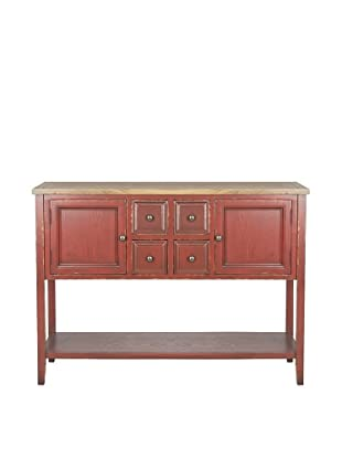 Charlotte Weathered Top Sideboard, Wine