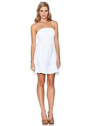 Guess Vestido Puntilla (Blanco)