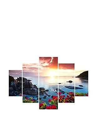 Miracle Wandbild 5 tlg. Set St108 mehrfarbig