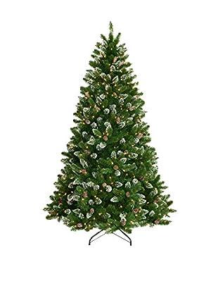 National Tree Company 7.5' Crystal Spruce Tree