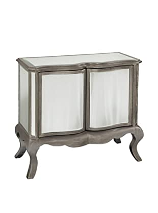 Bassett Mirror Bonopart Cabinet, Antique Pewter