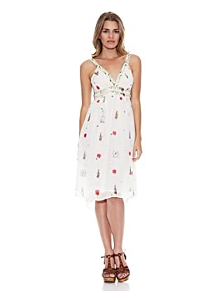 Monoplaza Vestido (Blanco)