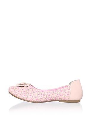 Ortopasso Kid's Leather Flat (Pink)