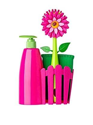 VIGAR Kit de Limpieza 4 Piezas Rosa / Verde