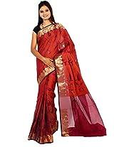 Bunkar women's handcrafted cotton silk banarasi saree