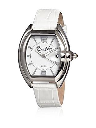 Bertha Uhr mit Schweizer Quarzuhrwerk Chloe weiß 42 mm