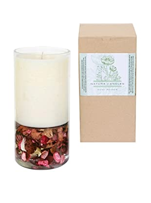 Natura Candles Rose Garden Botanical Decorative Candle