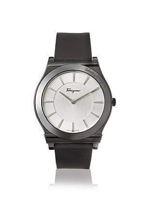 Salvatore Ferragamo Men's FQ3010013 1898 Black & Silver Leather Watch