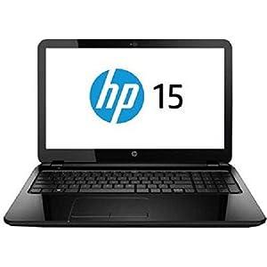 HP 15-R078TU 15.6-inch Laptop (Pentium N3530/4GB/1TB/Windows 8.1, 64Bit/Intel HD Graphics/with Laptop Bag), Sparkling Black