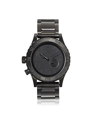 Nixon Men's A035001 The 42-20 Tide Black Stainless Steel Watch