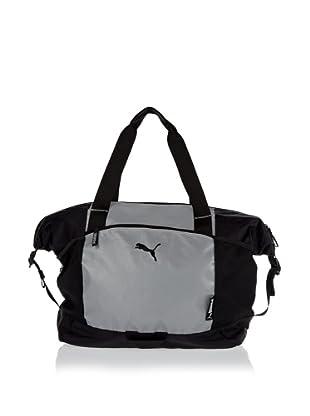 PUMA Tasche Fitness Glow Workout silver reflective-black 40 x 35 x 20 cm