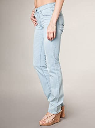 7 for all Mankind 5-Pocket Jeans HW Valeriana Straight Leg (hellblau denim)
