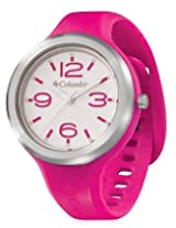 Columbia Pink Silicon Analog Women Watch CT005 615