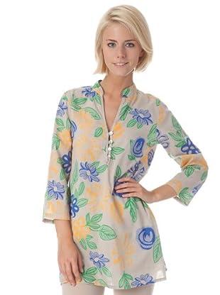 Bleifrei Blusa Costuras (Beige)