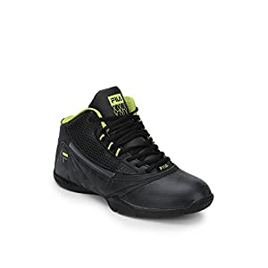 Jump In Black Basketball Shoes Fila