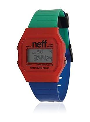 Neff Reloj de cuarzo Flava Multicolor 35  mm