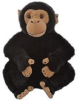 Hamleys Chioma Chimpanzee Soft Toy, Black (9-inch)