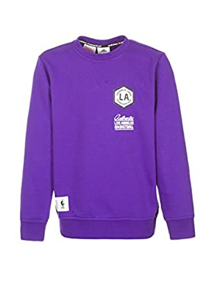 adidas Sudadera Los Angeles Lakers Washed Crew