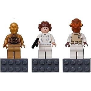 【クリックで詳細表示】Amazon.co.jp | LEGO 852843 StarWars マグネット C-3PO, Princess Leia and Admiral Ackbar レゴ スターウォーズ | おもちゃ 通販