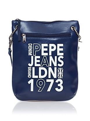 Pepe Jeans Bandolera Texto Azul Marino