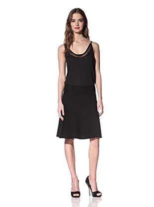 NINA RICCI Women's Wool Short Skirt (Black)
