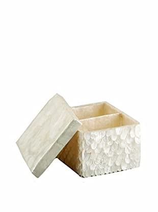 Pearl Dragon Wings Ammenities Box (White)