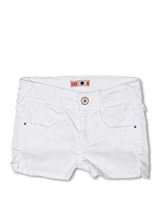 CKS Kids GIRLS Shorts Bixbite (Blanco)