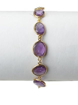Saachi Amethyst Multi-Stone Bracelet