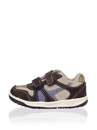 Stride Rite Kid's Maddox Sneaker (Toddler) (Brown/Blue/Sandstone)