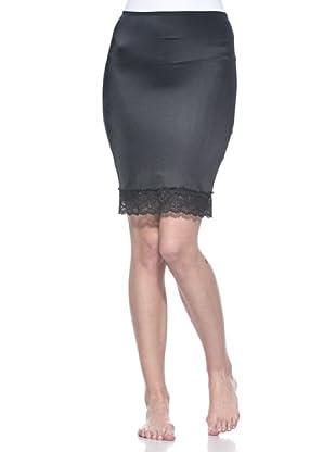 X-Fect Bodycon Rock Tummy Dress Pizzo (schwarz)