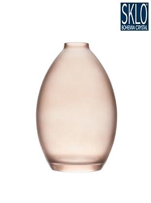 Cristal de Bohemia Florero Tao H 28 Cm Rubí