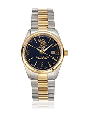 U.S. POLO ASSN. Reloj con movimiento cuarzo japonés Man Orwhite Plateado / Dorado