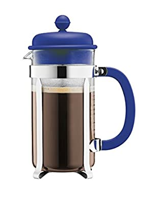 Bodum Cafetera French Press 8 Cups 1 L Azul