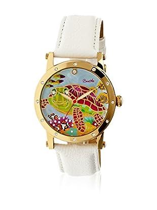 Bertha Uhr mit Japanischem Quarzuhrwerk Chelsea weiß 41 mm