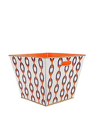 Jayes Chains Storage Bin, Orange