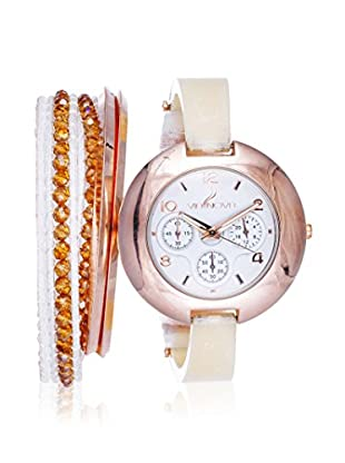 Arm Candy Women's NXS5295Q-WT White Stainless Steel/Metal Watch