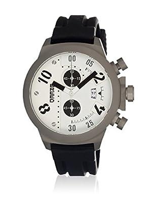 Breed Reloj con movimiento cuarzo japonés Brd0302 Negro 45  mm