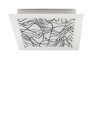 Light&Design Lámpara De Techo Belinay Blanco/Negro